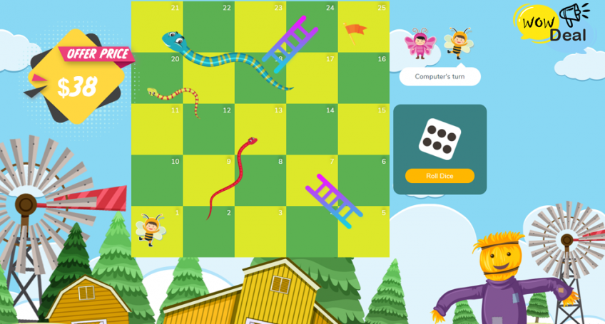 Snakes And Ladders For Kids