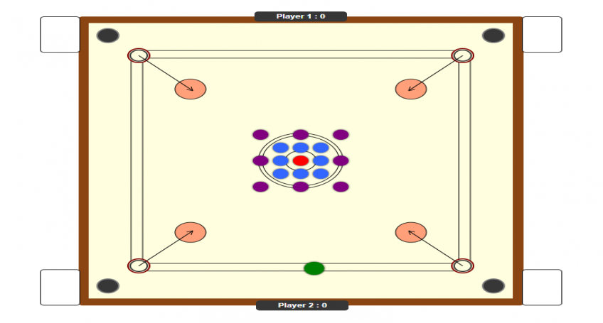 Carrom Board Online Game